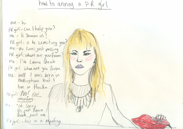 Annoy a PR girlsml
