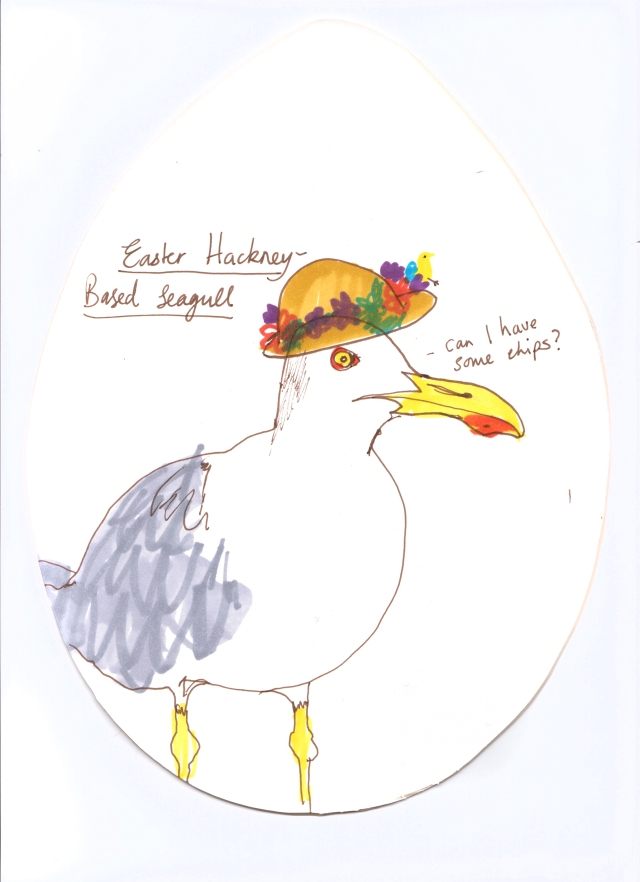 Easter seagull