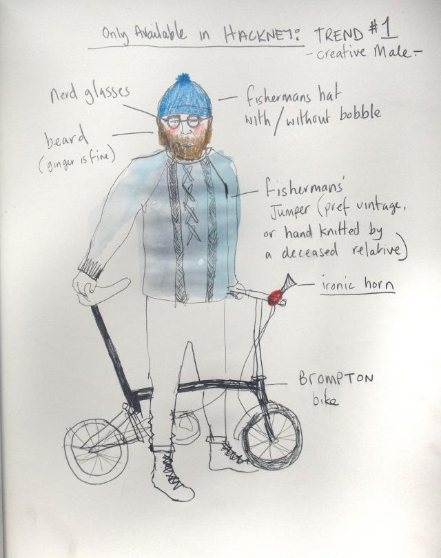 Hackney Biker