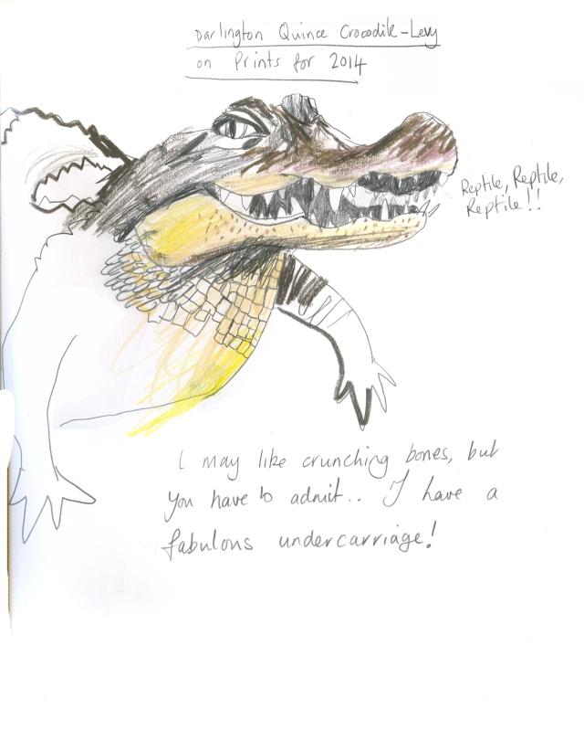 Farmhouse Croc on print '14sml