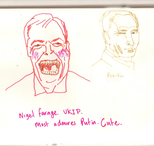 Nigel Farage and Putinsml