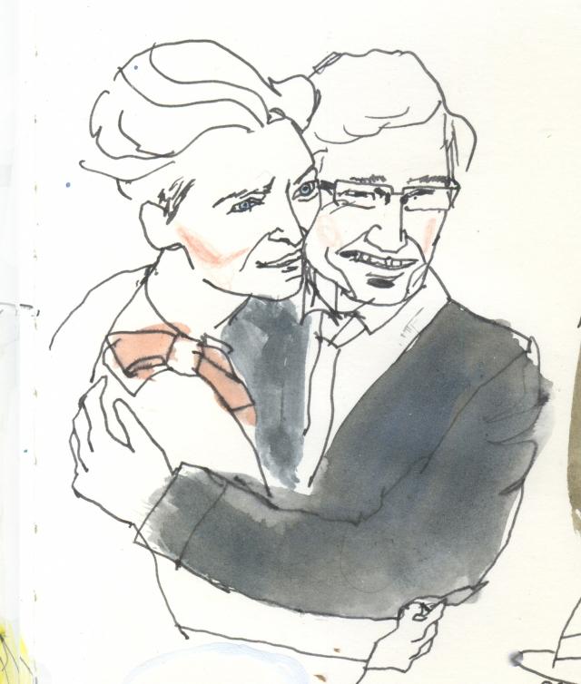 Tilda and Paul O'Grady